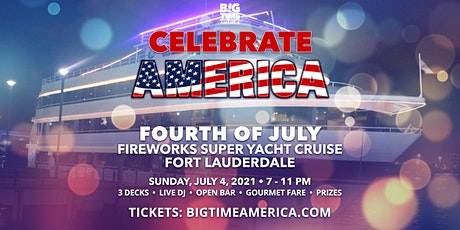 Fourth of July Fireworks Super Yacht Cruise - Fort Lauderdale tickets