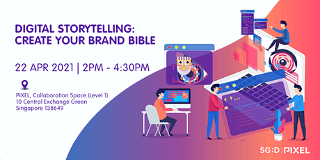 Digital Storytelling: Create Your Brand Bible tickets