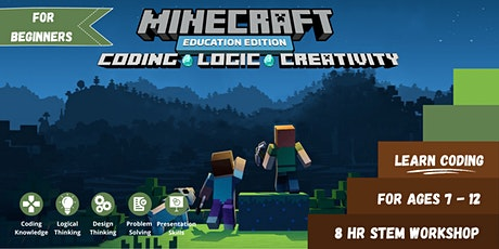 Minecraft Coding | Basic | For Ages 7-12 tickets