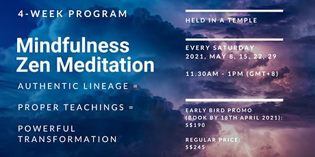 Mindfulness Zen Meditation tickets