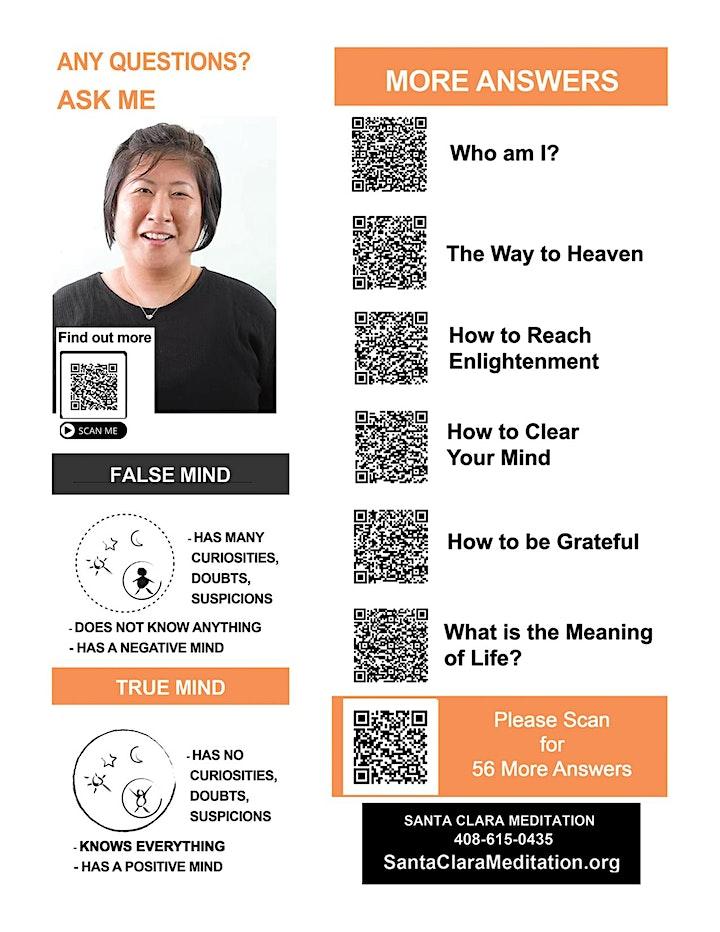 Santa Clara Meditation - Free Seminar! image