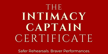 ICOC EDU is offering the Intimacy Captain Certificate!! tickets