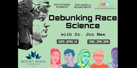 Debunking Race Science - with Dr. Jon Mee tickets