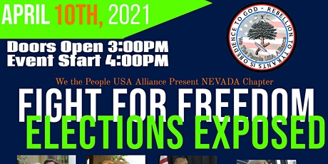 Fight for Our Freedoms- An Election Exposed tickets