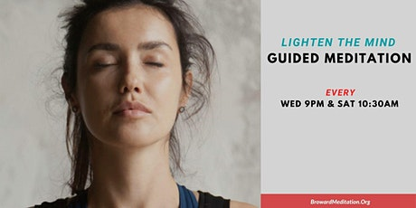 Free Guided Meditation Experience - Lighten the Mind tickets