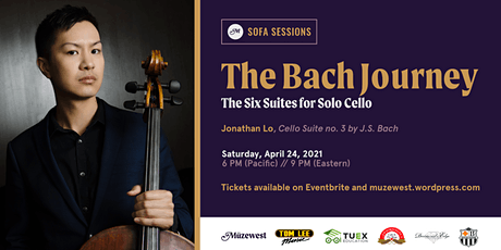 Jonathan Lo performs Bach's Third Cello Suite for Müzewest Concerts tickets