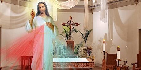 St Mary Divine Mercy Saturday Evening Mass 5:00 PM 10-Apr'21 tickets