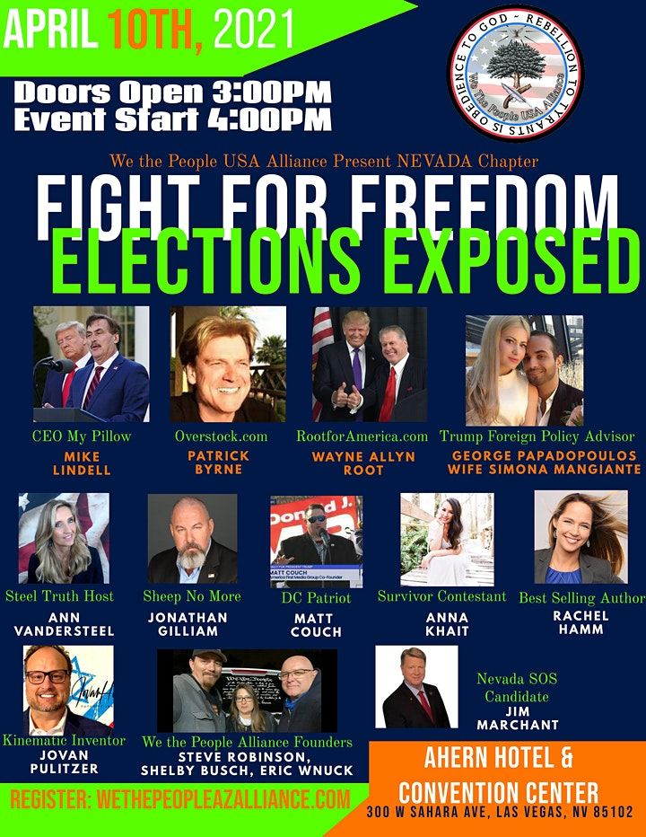 Fight for Our Freedoms- An Election Exposed image