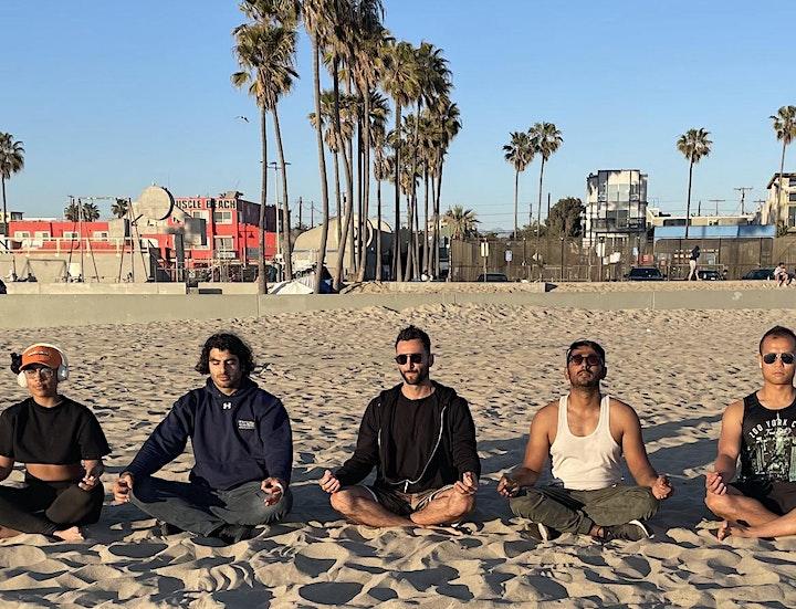 Sunset Group Meditation image