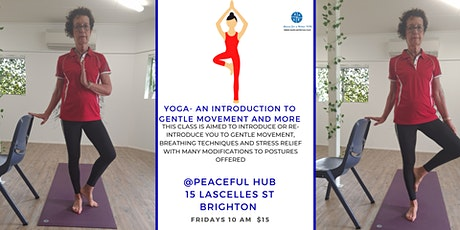 Yoga - An introduction to Gentle Movement and more tickets