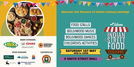 City of Darwin Indian Street Food Festival 2021 tickets