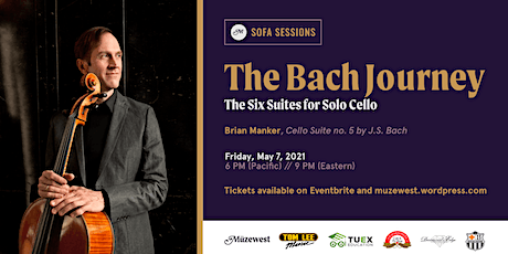 Brian Manker plays Bach's 5th Cello Suite tickets