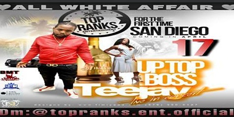 Teejay Uptop Boss Live Performance ALL WHITE AFFAIR tickets