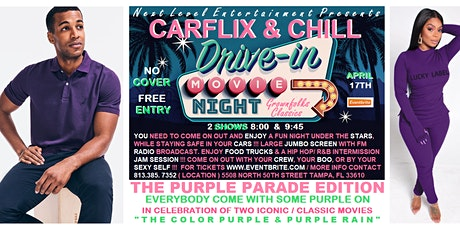 GROWN FOLKS DRIVE IN MOVIE: Car Flix & Chill PURPLE PARADE EDITION tickets