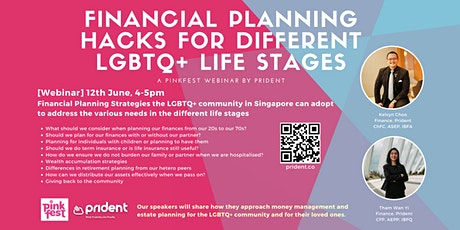 Financial planning hacks for different LGBTQ+ life stages tickets