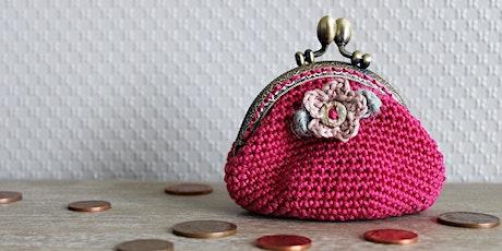 Crochet -A-Long | Daisy Kiss Pinch Purse tickets