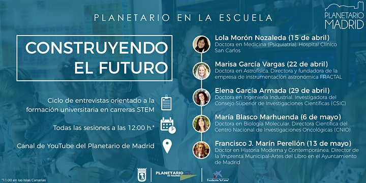 Imagen de PLANETARIO EN LA ESCUELA. CONSTRUYENDO EL FUTURO... EN BIOLOGÍA