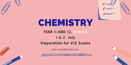 VCE Chemistry - Titrations and calculations, 1 and 2 July (Online) tickets
