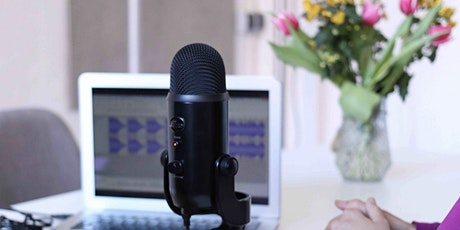 Podcast Training - online via Zoom (2 x half days) tickets