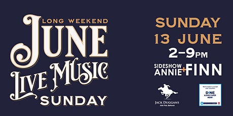 JUNE LONG WEEKEND LIVE MUSIC SUNDAY tickets