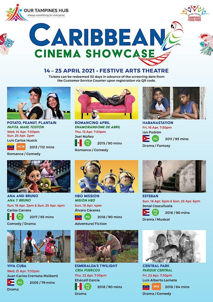 Caribbean Cinema Showcase - Esmeralda's Twilight (PG 13) image