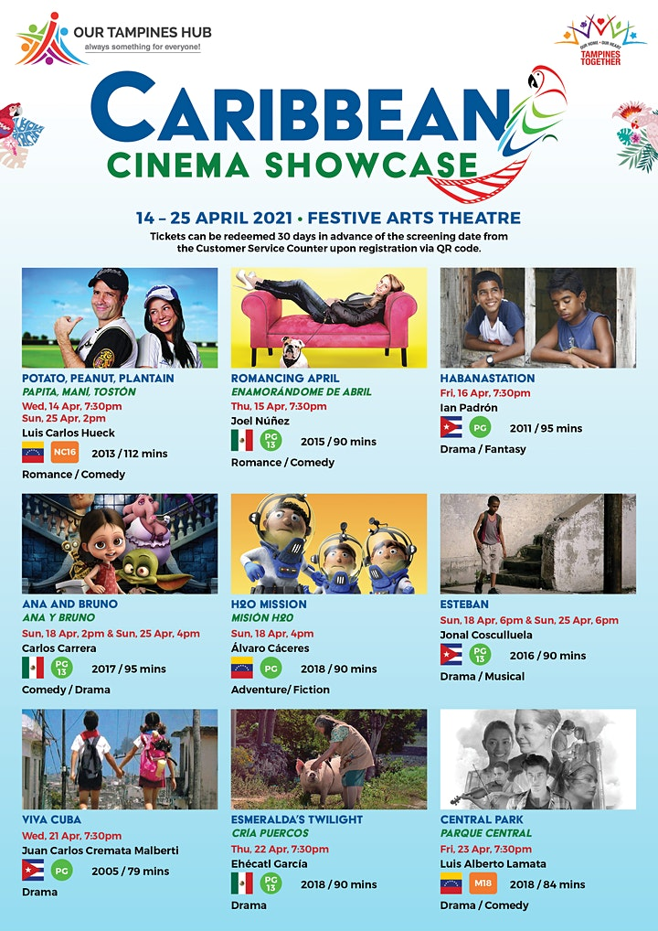 Caribbean Cinema Showcase - Romancing April (PG 13) image
