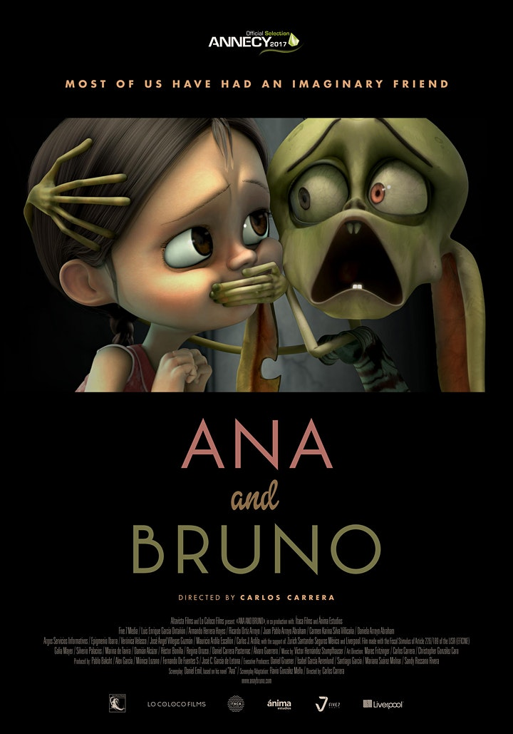 Caribbean Cinema Showcase - Ana and Bruno (PG 13) image