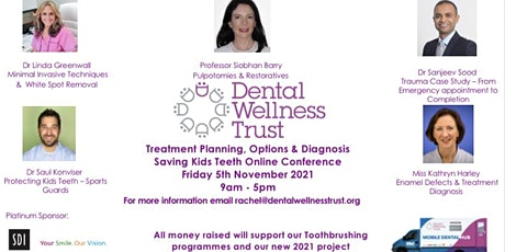 Saving Kids Teeth -Treatment Planning to Attain Kids Oral Health Post Covid tickets