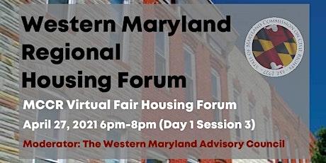 Western Maryland Regional Housing Forum tickets