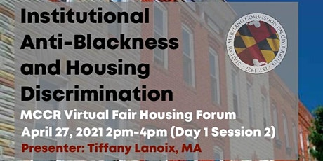 Institutional Anti-Blackness and Housing Discrimination (MCCR Fair Housing) tickets