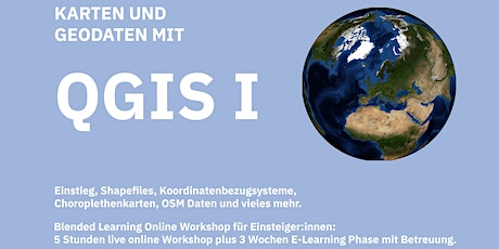 QGIS I - Workshop für Einsteiger:innen Tickets