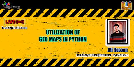 Utilization of Geo Maps in Python Tickets