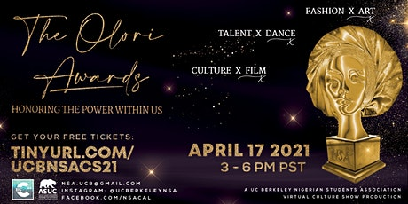 The Olori Awards: Honoring The Power Within Us tickets