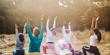 Yoga in Battersea Park Saturday 11am tickets