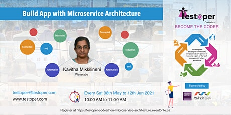 Codeathon -Build App with Microservice Architecture starts on 08 May 2021 tickets