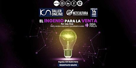 Taller Online El Ingenio para la Venta 14Abr entradas