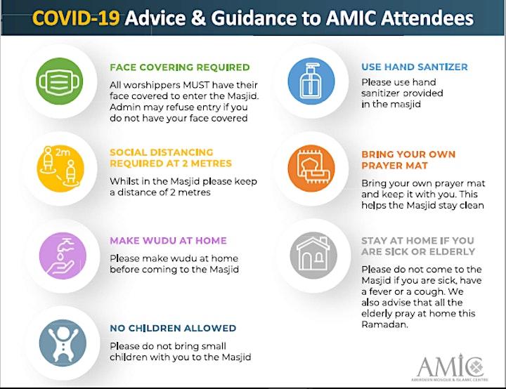 Jummah at AMIC on 11 Jun image