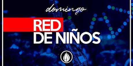 RED DE NIÑOS DOMINGO boletos