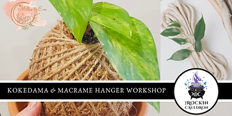 Kokedama & Macramé Hanger Workshop tickets