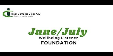 June/July Wellbeing Listener 2021 tickets