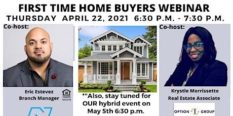 First Time Homebuyers Webinar tickets