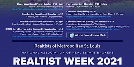 Stl Realtist Week Community Service tickets