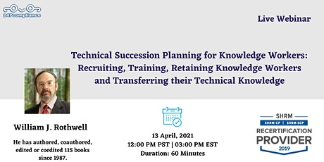 Technical Succession Planning for Knowledge Workers: Recruiting, Training, tickets