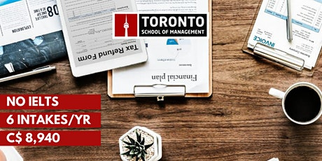 Move to Toronto with Toronto School of Management! tickets