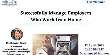 Successfully Manage Employees Who Work from Home tickets