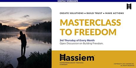 Masterclass to Freedom tickets