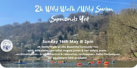 2K Wild Walk & Guided Swim (Symonds Yat) tickets