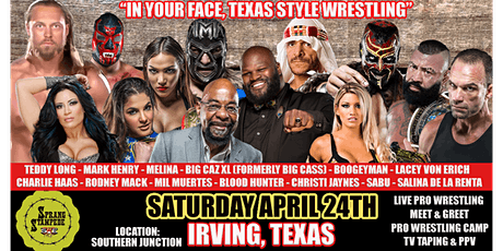 "SWE FURY TV ""SPRANG STAMPEDE""  TV Taping tickets"