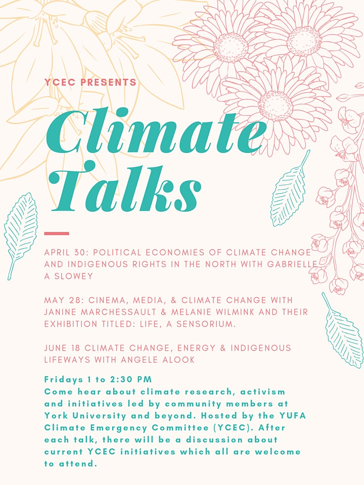 YCEC Climate Talks Series image
