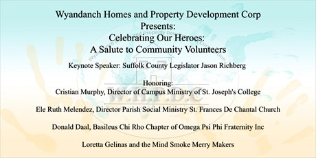 WHPDC Presents: Celebrating Our Heroes, a Salute to Community Volunteers tickets